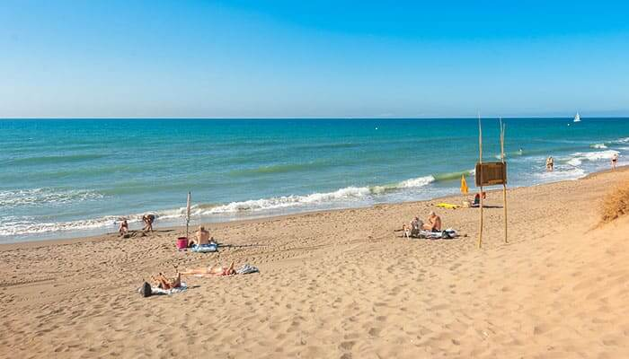 Costa del Sol Beach Club Season Officially Underway. Secluded beaches