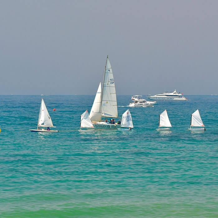 Deportes acuáticos en la Costa del Sol