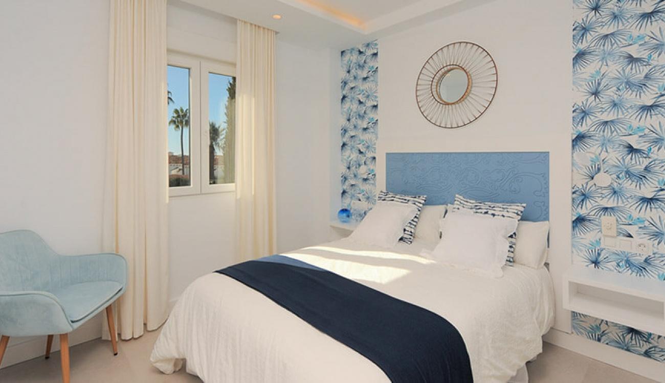 Después - Dormitorio en La Perla de Riviera